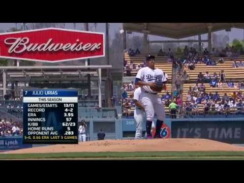 August 27, 2016-Chicago Cubs vs. Los Angeles Dodgers