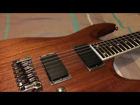 Ibanez RGA32 MOL guitar review. Features and overview