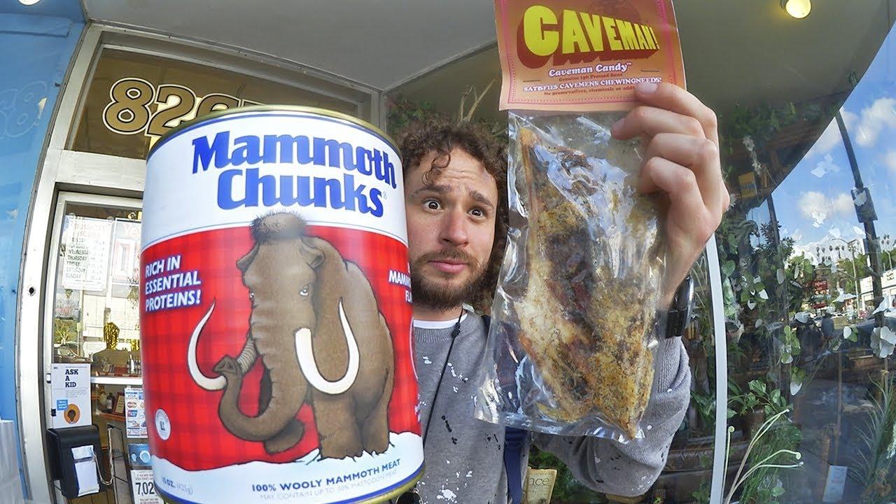 Aquí venden carne de MAMUT! | Supermercado para cavernícolas