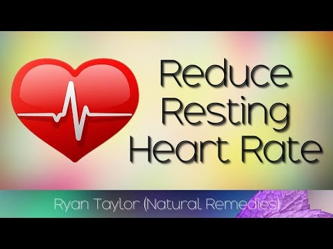How To Reduce Resting Heart Rate