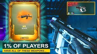 6 of the Rarest COD Weapons of All Time