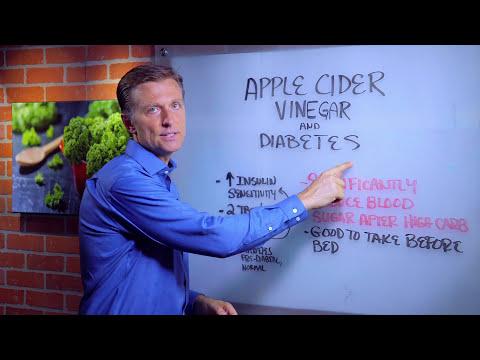 Apple Cider Vinegar & Diabetes - YouTube