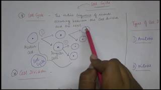 Class 10 Biology - Cell Division