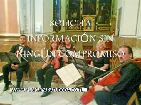 Bañeres de mariola Alicante musica ceremonias boda violines