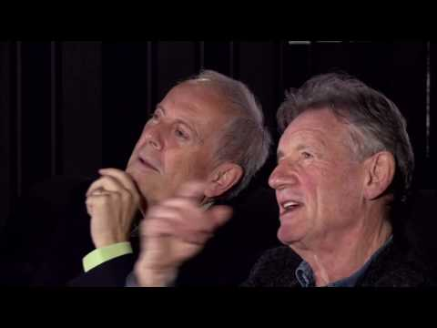 Monty Python's Michael Palin watches rare footage he hasn't seen for decades