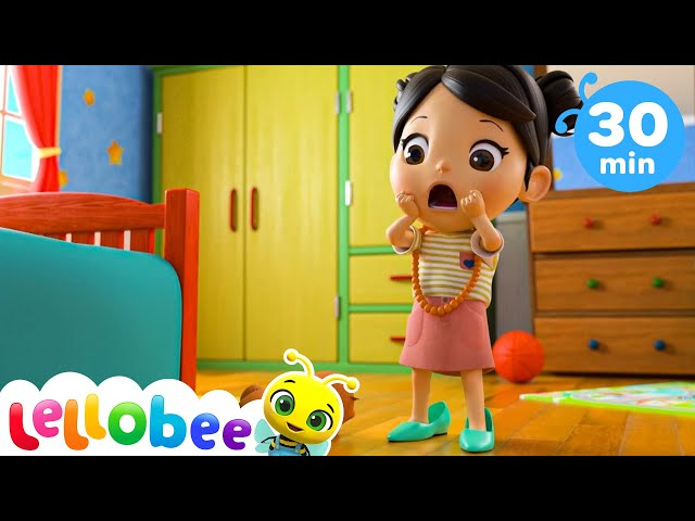 Five Little Monkeys - Learn To Count | Nursery Rhymes & Kids Songs - ABCs and 123s | Little Baby Bum