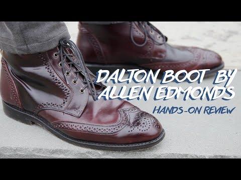Allen Edmonds Dalton Boot in Shell Cordovan Review | OFF TOPIC