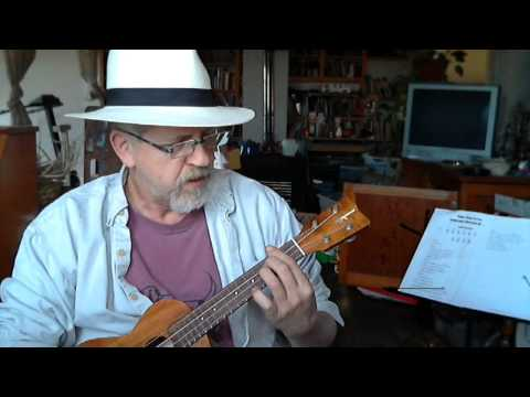 jimmy buffet's pencil thin mustache ukulele cover