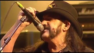 We are Motorhead, and we play Rock & Roll .... Lemmy will live fore...