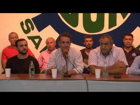 Katopodis junto a Daer en la UOM de  San Martín, de cara a la movilización del 7M