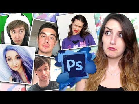 PHOTOSHOPPING MY YOUTUBE FRIENDS...TOGETHER #2