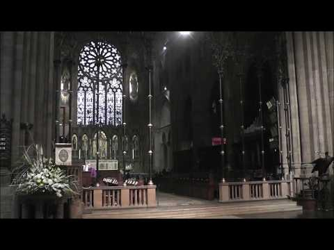 11 05 2017 All Saints' Sunday Festival Evensong with Procession Cathedral of All Saints Albany NY