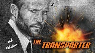 "JASON STATHAM ""EL TRANSPORTADOR"" DIBUJO FINALIZADO/JASON STATHAM ""THE TRANSPORTER"" FINISHED DRAW"