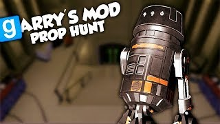 CACHÉ EN OBJET DE STAR WARS ! (GMOD Prop Hunt Fun)