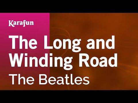 Karaoke The Long and Winding Road - The Beatles *
