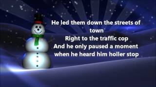 Jimmy Durante - Frosty the Snowman (Lyrics)