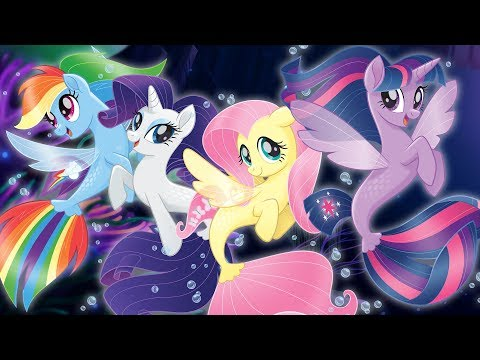 """Seaponies - Ponies Mermaids  from """"My Little Pony: The Movie"""""""