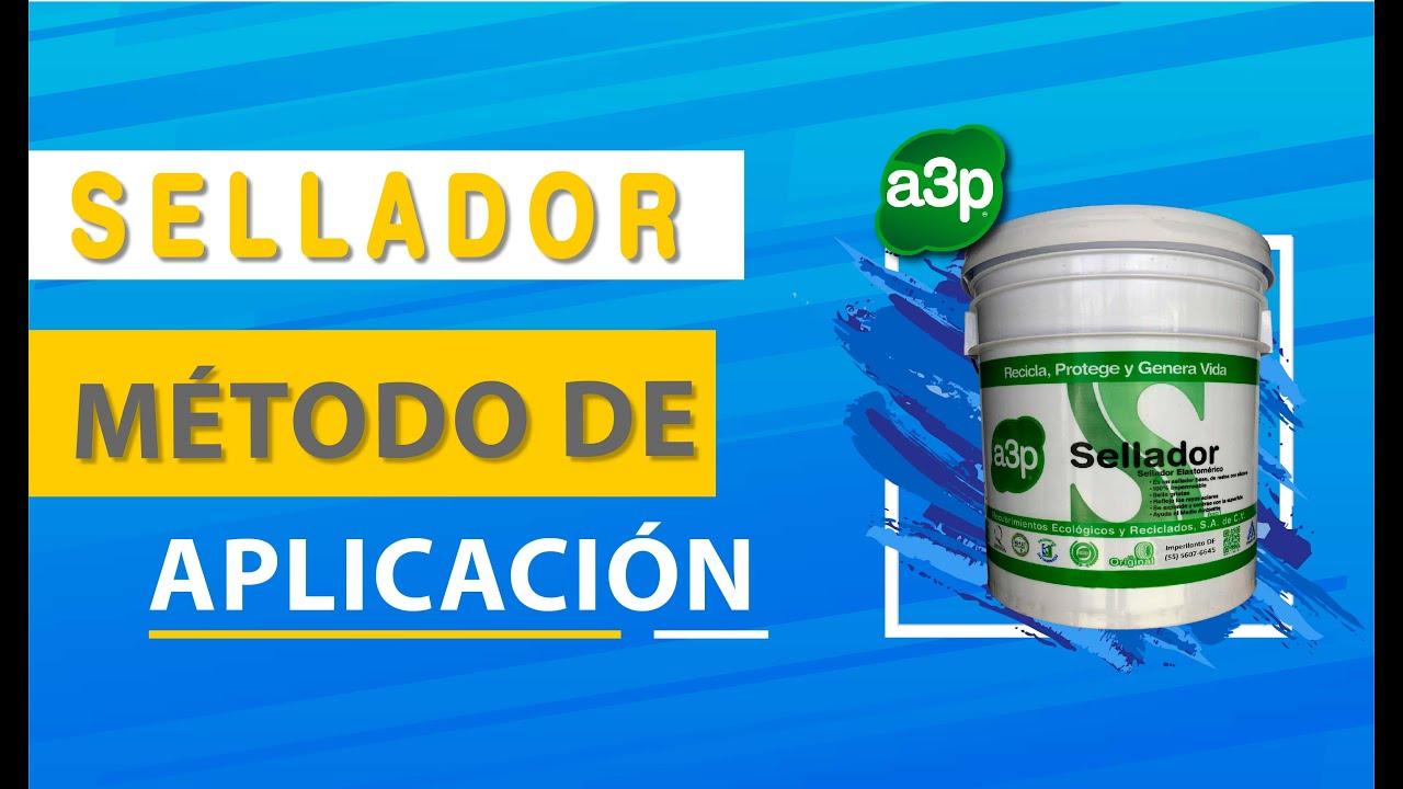 Cómo aplicar Imperllanta a3p Sellador Acrílico