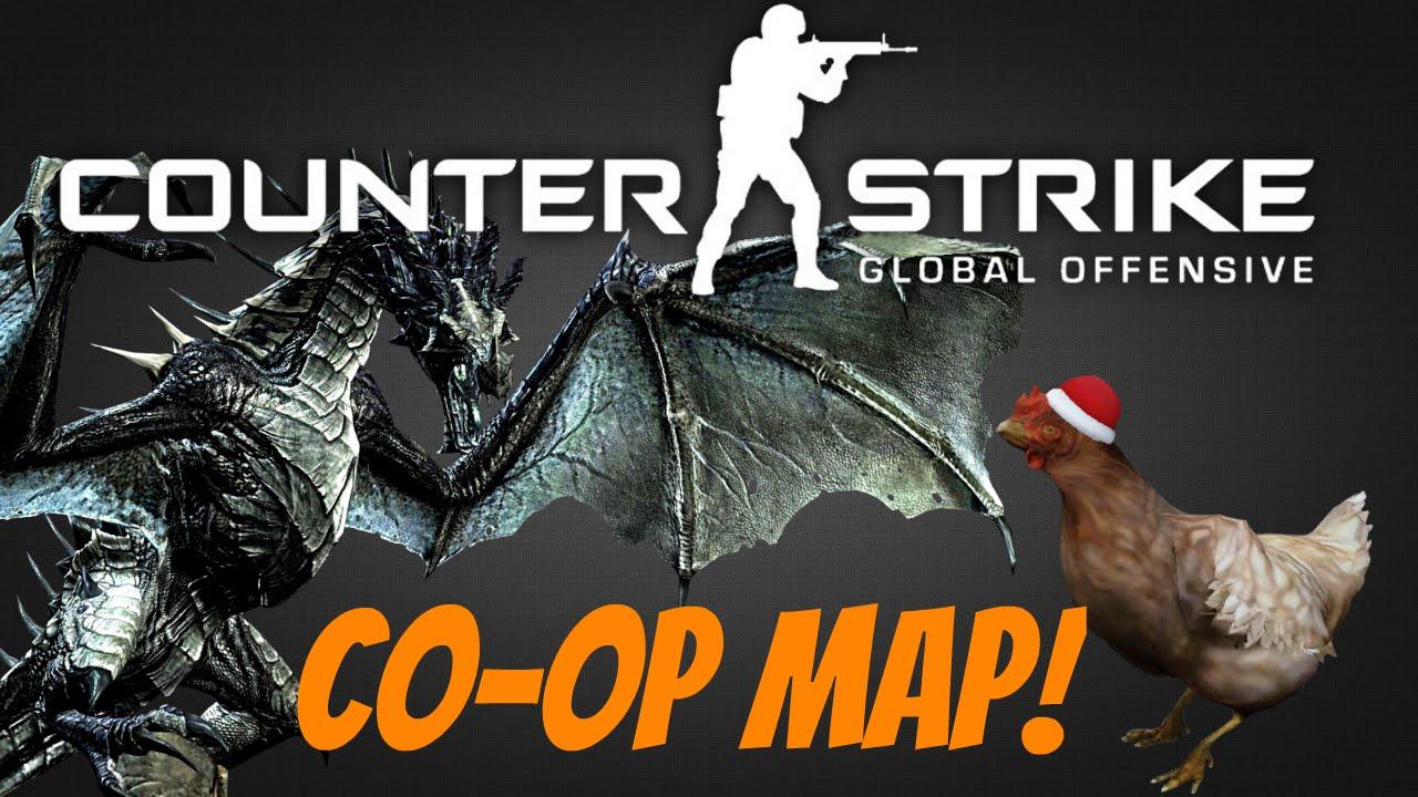 Download SKYRIM IN CSGO! - CS:GO Co-op Map Fun!