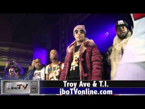 Troy Ave Brings out T.I. at Webster Hall NYC All Star Weekend NYC