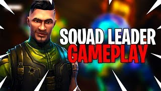 I FINALLY UNLOCKED THE SQUAD LEADER SKIN IN FORTNITE BATTLE ROYALE!!!!