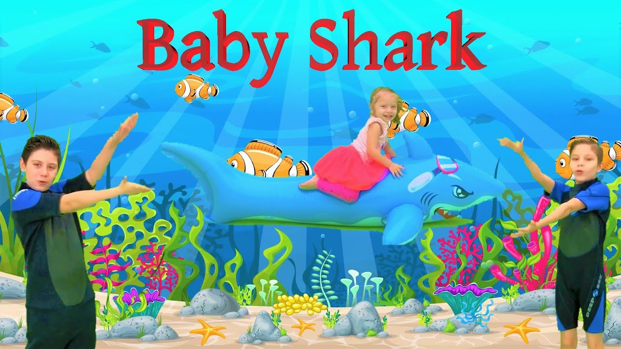 Baby Shark Dance - Kids Songs, by Lucy and Brothers - YouTube