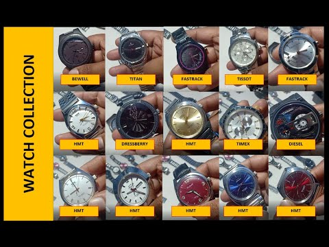 WRIST WATCH COLLECTION 2020 - Which One Did You Like? Vintage HMT, Tissot, Bobo, Bewell, TITAN