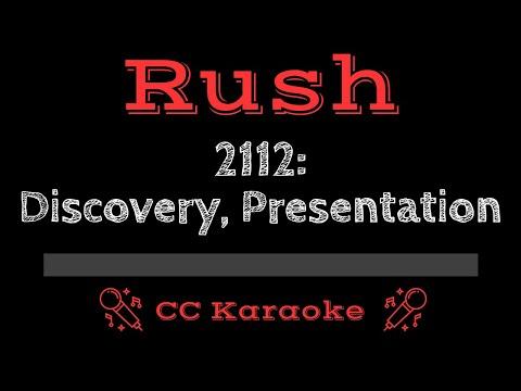 Rush   2112 Discovery   Presentation CC Karaoke Instrumental