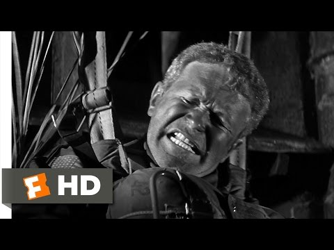 The Longest Day (1/3) Movie CLIP - Parachuting Fiasco (1962) HD