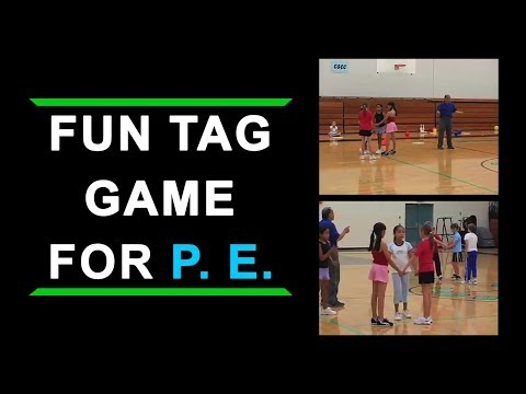 Fun Tag Game For Elementary School Physical Education Class