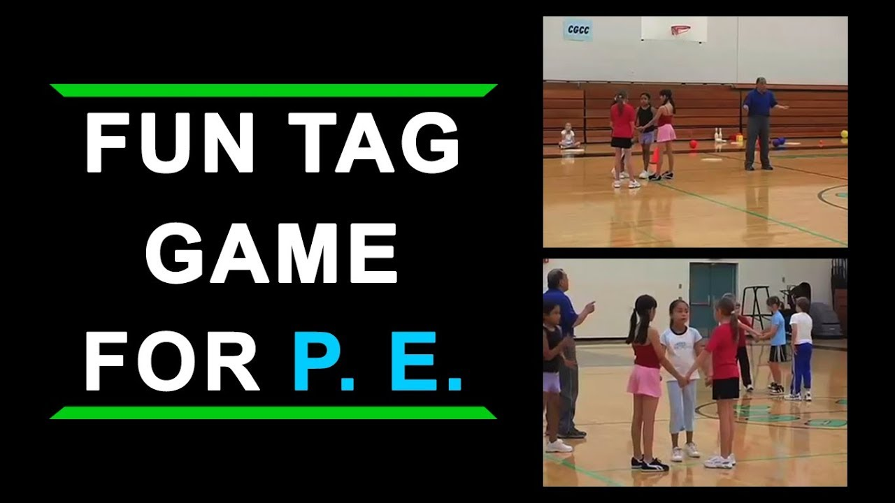 Fun Tag Game For Elementary School Physical Education