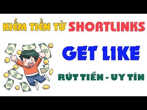 Shortlinks Kiếm Tiền Dễ Dàng Với Tính Năng Kiếm Tiền Mới Của Get Like