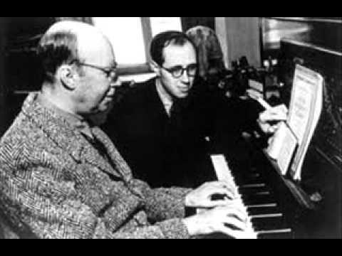 Rostropovich plays Prokofiev Concertino for Cello and Orchestra in G minor 1st Mvt