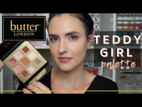 Butter London Teddy Girl Palette   Swatches + Tutorial