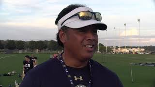 Navy Football Practice: October 9th 2018