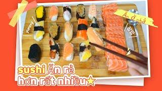Sushi Ăn rẻ hơn rất nhiều / 초밥…