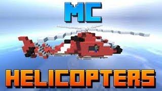 como instalar helicopters mod para minecraft 1.6.4