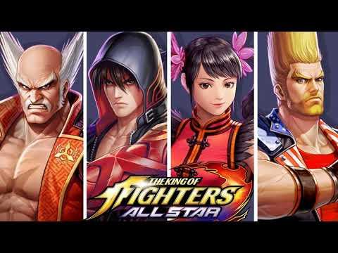 KOF All Stars X Tekken 7 Ost Start Screen
