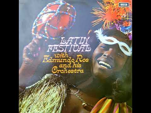 EDMUNDO ROS AND HIS ORCHESTRA – LATIN FESTIVAL [LP]