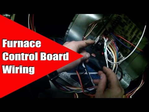 HVAC Furnace Control Board Wiring - YouTubeYouTube