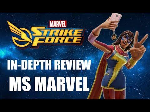 Marvel Strike Force - Ms Marvel In-Depth Review