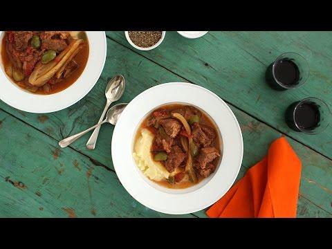 Slow Cooker Sicilan Beef Stew - Everyday Food With Sarah Carey