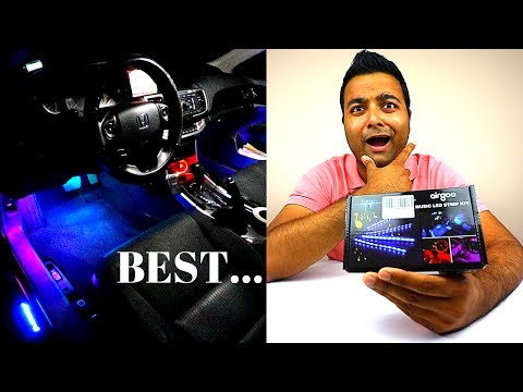 BEST PLUG & PLAY Footwell LEDs!!!  (Music Sync) (Airgoo)