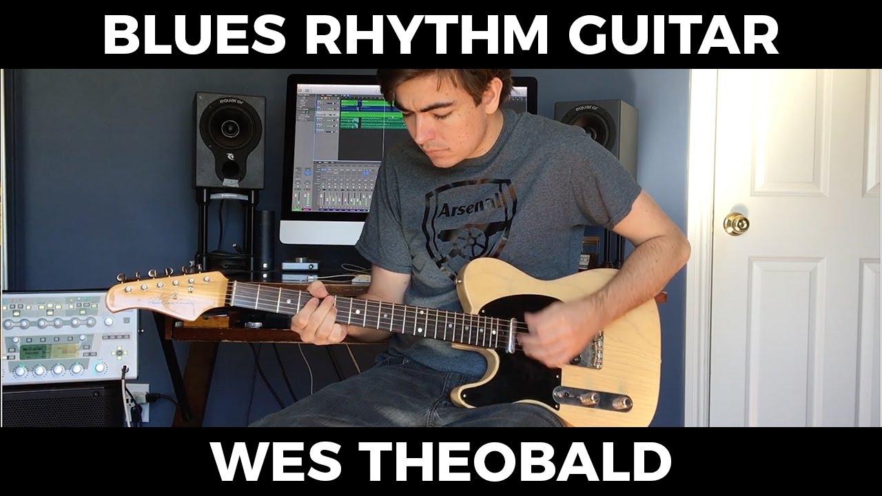 blues rhythm guitar lesson shuffle guitar patterns wes theobald youtube. Black Bedroom Furniture Sets. Home Design Ideas