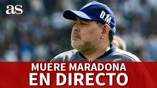 MUERTE MARADONA| EN DIRECTO desde CEMENTERIO BELLA VISTA I Diario AS