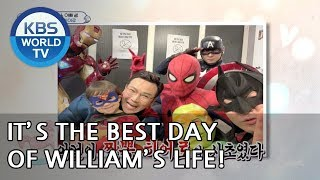 It's the best day of William's life!! [The Return of Superman/2019.02.17]
