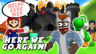 WE GOT TO STOP BOWSER EVIL PLANS IN ROBLOX!