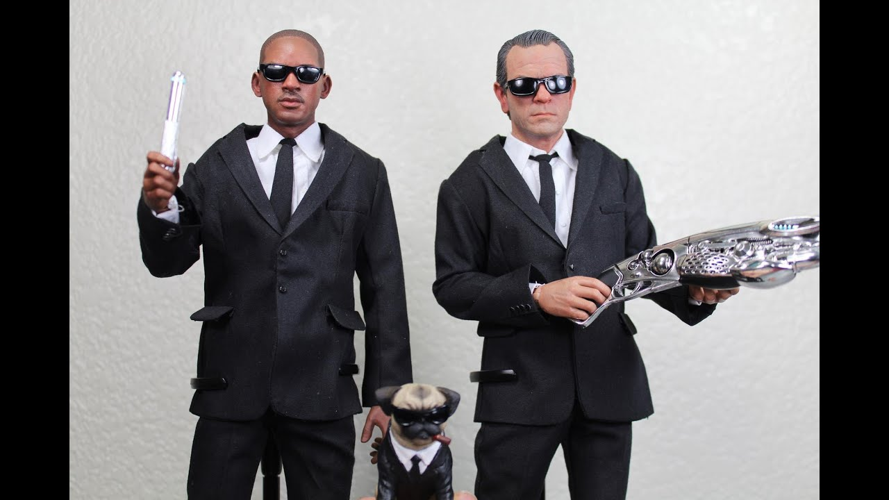 Men In Black 3 Enterbay Agent J Agent K Real Masterpiece 16 Scale Collectible Figures Review