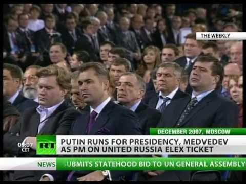 Kremlin Comeback: Putin in 2012 Presidential bid