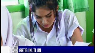 Aurel Hermansyah dan Ochi Rosdiana mengikuti UN - BIS 05/04